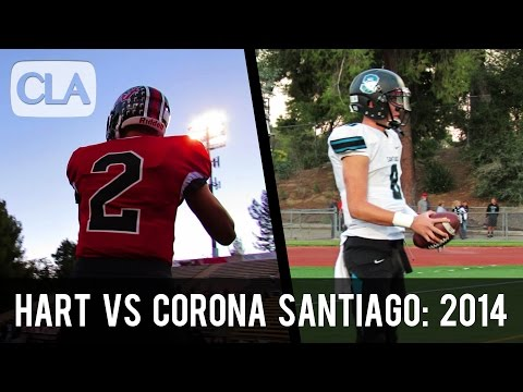 Hart vs Corona Santiago (2014): Complete Game Highlights (57-35) - CollegeLevelAthletes.com
