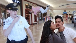 Gambar cover FLIPS FOR A KISS AT THE MALL (SECURITY KICKED US OUT FOR NO REASON!)