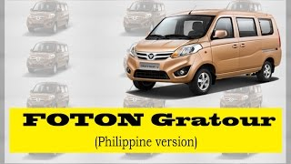 FOTON Gratour: An affordable vehicle for middle class family