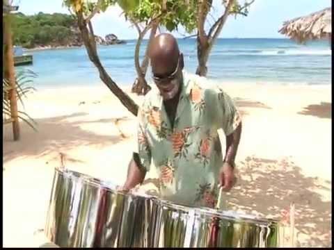 Caribbean Music with Donald Herbert On The Steel Pan at Bolongo Bay Beach Resort