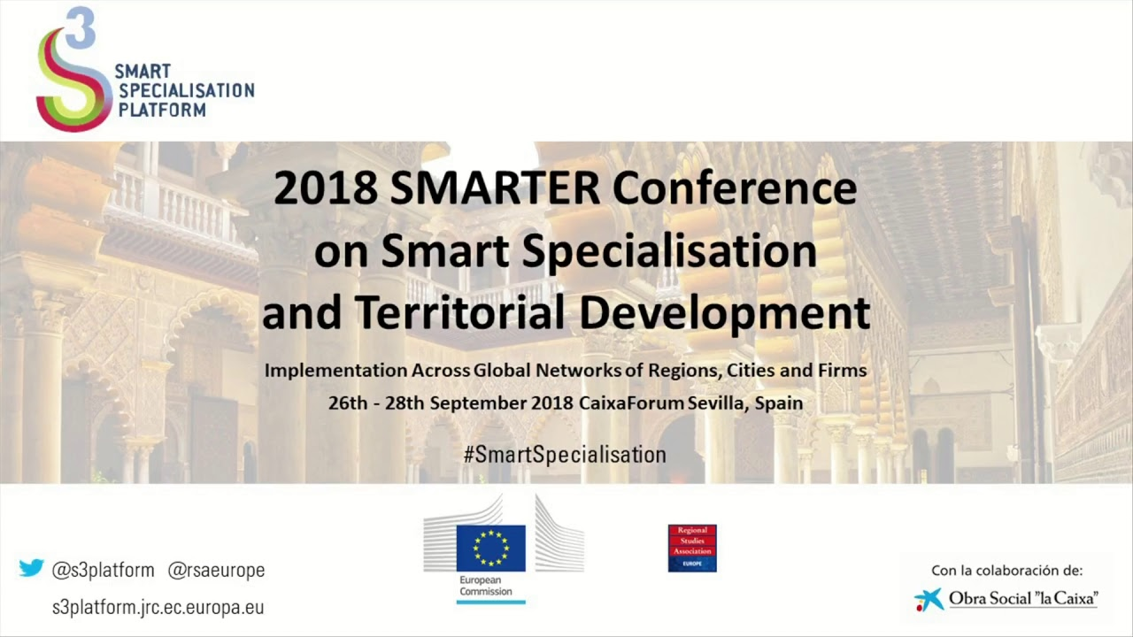 Events - 2018 SMARTER Conference on Smart Specialisation and