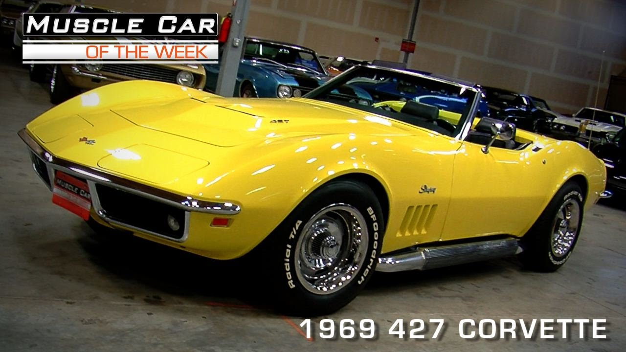 Muscle Car Of The Week Video 83 1969 Corvette 427 L71