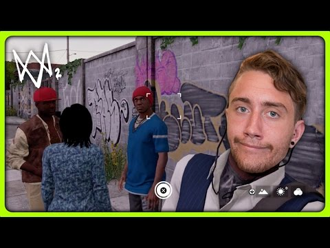 SELFIES WITH GANGSTERS | Watch Dogs 2 Free Roam