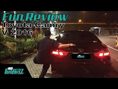 Toyota Camry V 2016 FUN REVIEW - Sedan Pejabat Jaman Now | LUGNUTZ Indonesia