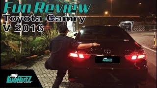 Toyota Camry V 2016 FUN REVIEW - Sedan Pejabat Jaman Now | LUGNUTZ Indonesia
