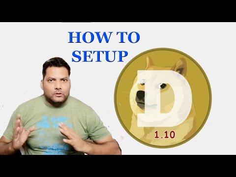 How To Setup Dogecoin Wallet   Blockchain Tutorial   SOFT TECH
