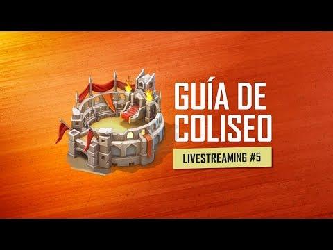 Guía Y Consejos Del COLISEO - Lords Mobile LiveStream #5