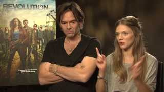 Billy Burke and Tracy Spiridakos talk Revolution