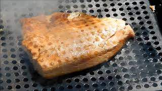 Smoked Salmon,Wood Smoked Salmon, Smoked Salmon on the Grill