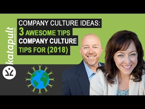 Company Culture Ideas: 3 Awesome Tips [Webcast #25] with Anese Cavanaugh In (2018)