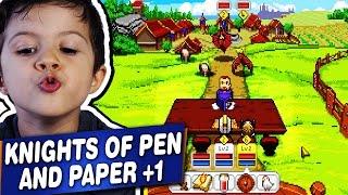 Knights of Pen and Paper +1 - PC - Gameplay Comentado em Português PT-BR