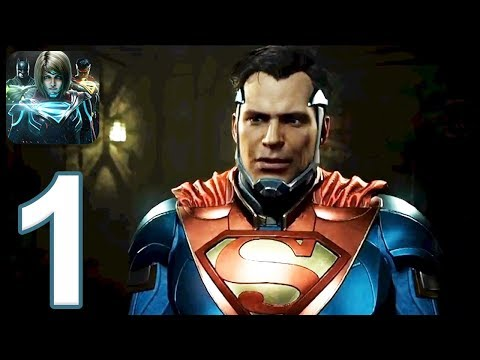 Injustice 2 Mobile: Story Mode - Gameplay Walkthrough Part 1 - Chapter 1 (iOS, Android)