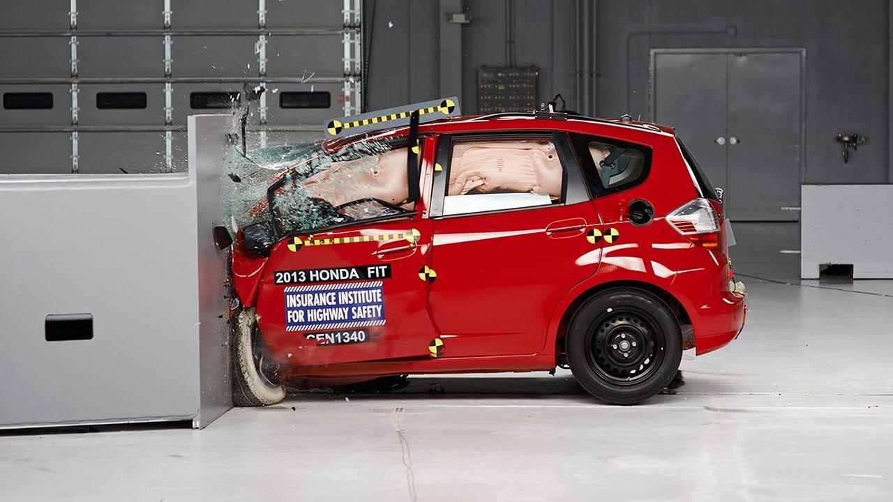 Captivating 2013 Honda Fit Driver Side Small Overlap IIHS Crash Test   YouTube