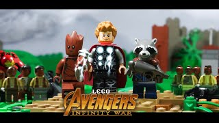 Avengers Infinity War: Thor Arrives in Wakanda in LEGO