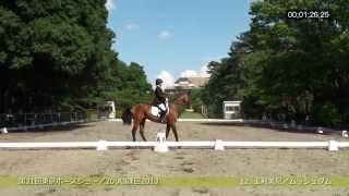 2014/06/15 31. Tokyo Pferdschau. JEF Dressurprüfung der Klasse A3, ...