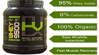 High Voltage Whey 9500 - Review | India's ONLY Whey Protein with 95% Protein per Serving