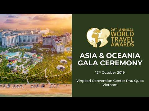 World Travel Awards Asia & Oceania Gala Ceremony 2019 Highlights