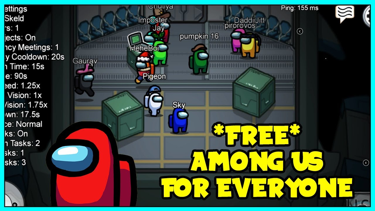 How To Get Among Us For Free On Pc For Everyone To Get Among Us Online For Free Fast Youtube