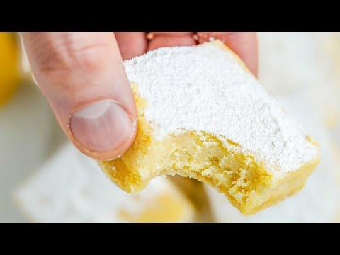 KETO Lemon Bars | One of the BEST Keto Desserts For Summer