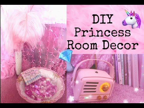 Diy Princess Room Decor Hacks Youtube