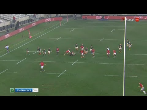 Download MasterPlan   Analysing Cheslin Kolbe's try and the Springbok counter-attacking decision making