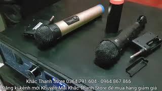 Micro không dây da năng dishibao D1 200k và V1 300k