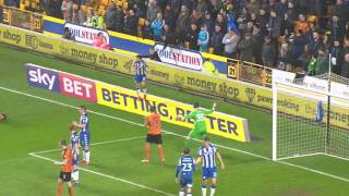 HIGHLIGHTS   Wolves 0-1 Wigan Athletic