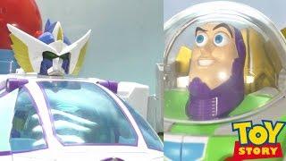 ディズニー、トイ・ストーリーの合体ロボが超合金で登場 バズ・ライトイ...