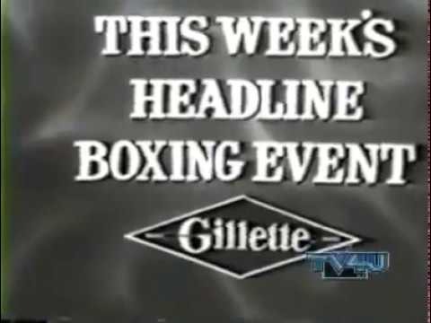Copy of Gillette Cavalcade of Sports   Boxing
