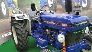 Mahindra Arjun Novo 605 Di-i vs Farmtrac 6055 t20/classic