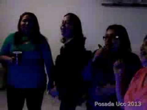 Posada Ucc 2013  empezamos con el Karaoke