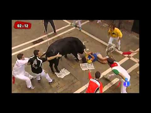Running of the Bulls 2013 - Pamplona (Spain)