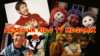 Retro UK Kids TV Megamix (90's and Some Early 00's)
