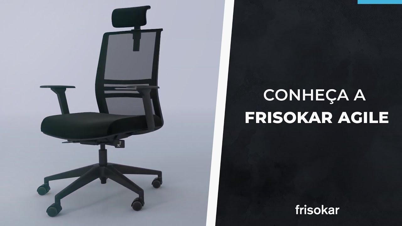 Resultado de imagem para cadeira agile frisokar