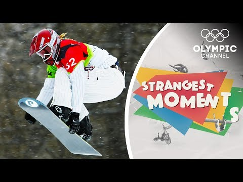 Snowboarder Lindsey Jacobellis Learns a Valuable Lesson | Strangest Moments