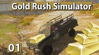 GOLDGRÄBER SIMULATOR | Releaseversion! Road to MILLIONÄR! 💰 #01 Gold Rush Gameplay deutsch