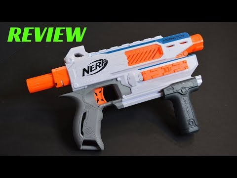 [Review] Nerf Modulus Mediator (with Stock And Barrel Attachments)