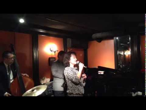 Miki Kageyama in Ginza, Jazz & bar em's, J's session ( Lover, Come Back To Me )