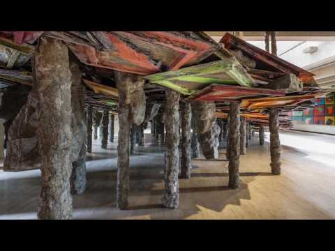 Phyllida Barlow: British Pavilion artist at Venice Biennale 2017