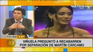 ¿Por qué se separó Martín Cárcamo?