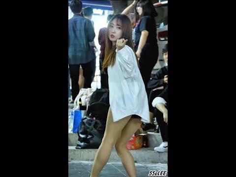 170527 댄스팀 해피니스 (레아, Happiness) - Whoo (레인보우) @ 홍대 거리공연 직캠 By SSoLEE