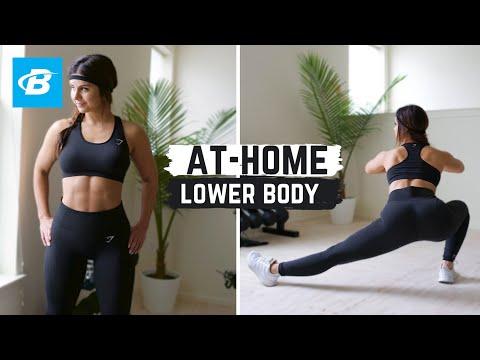 At-Home Lower Body Workout Routine | Ashley Gaita