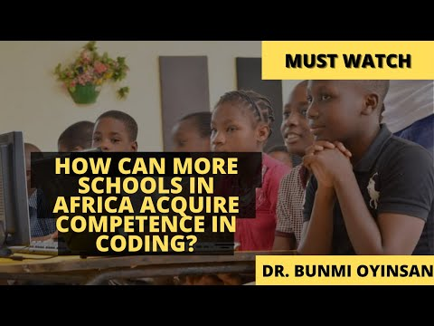 How Can More Schools in Africa Acquire Competence in Coding?   Sankofa Pan African Series