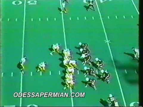Permian Panthers 1991 regular season highlights