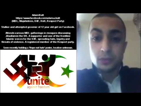 A peaceful advocate for the 'religion of peace', and the UAF/HnH