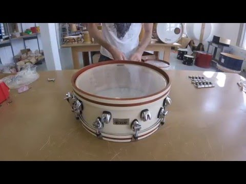 Ayotte Drums - Snare Built