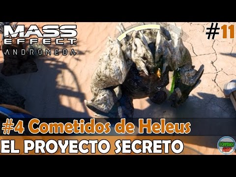 Mass Effect Andromeda | El Proyecto Secreto | #4 Cometidos de Heleus | En Español Sin Comentario