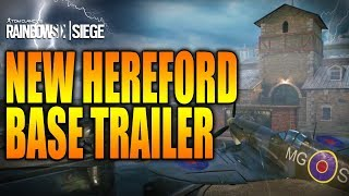 Rainbow Six Siege - In Depth: NEW HEREFORD BASE REWORK TRAILER!