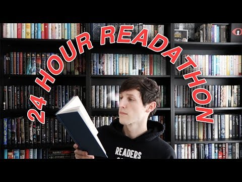 24 HOUR READATHON VLOG!