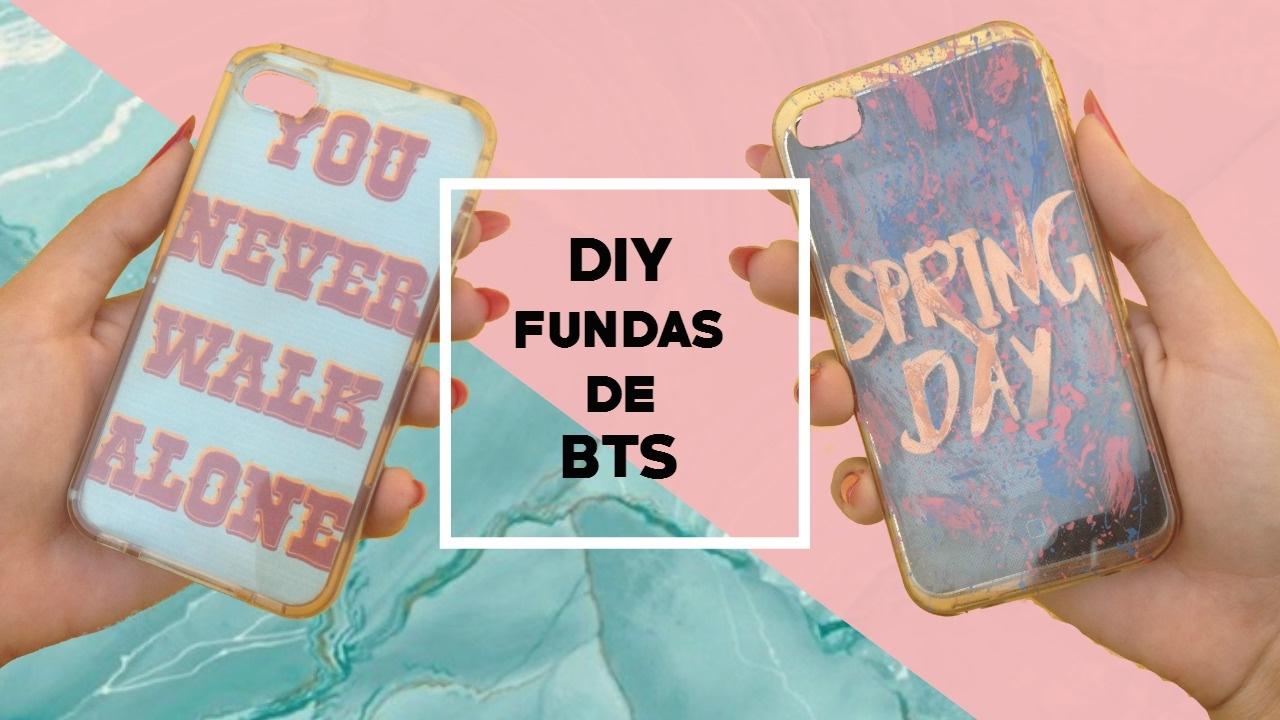 f057d926cee DIY K-POP: Fundas para celular de BTS| Andrea Maldonado - YouTube